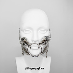 'Hermes' Metal Wings Mouth Piece