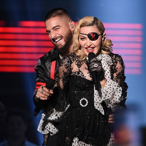 Madonna & Maluma for Billboard Award 2019