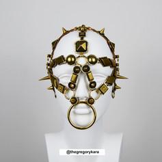 'Hercules' Gold Head Piece