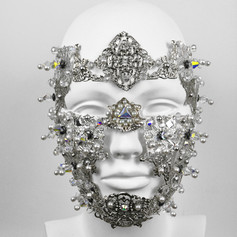 Metal Armor Face Piece