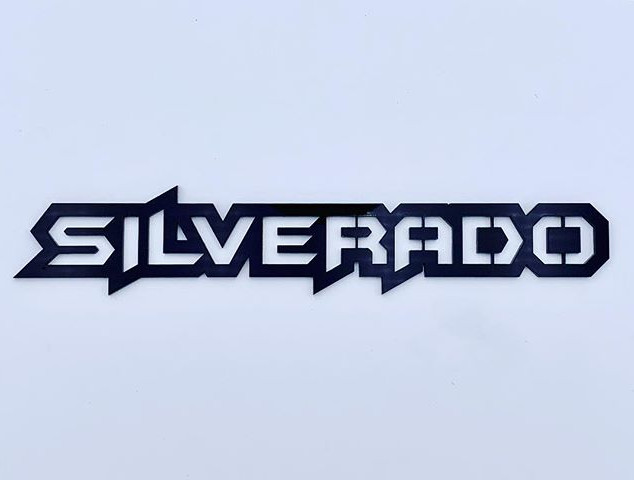 Some custom Silverado badges. #chevysilv