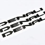 Another set of custom Denali emblems kno