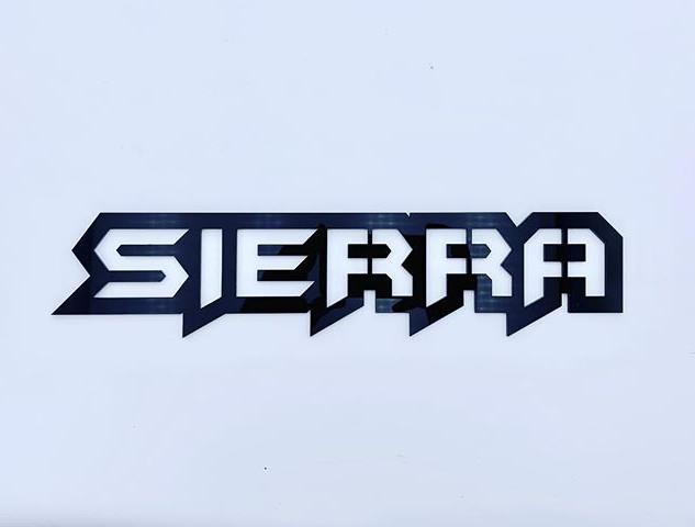 Sierra badge like the Silverado from ear
