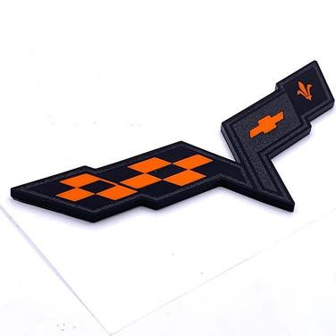 Black and orange._#c6 #c6corvette #c6z06