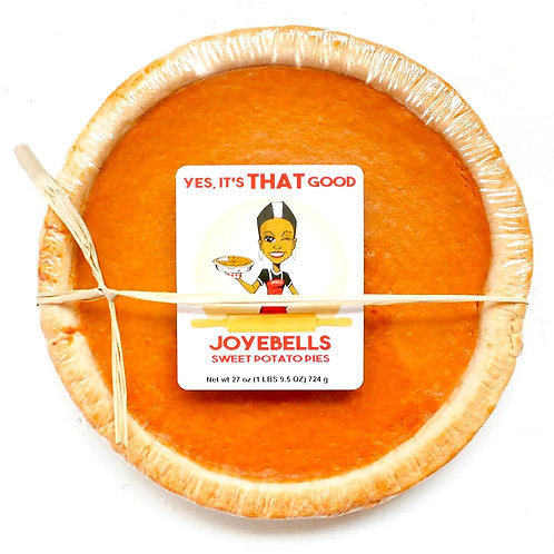PREBAKED: Joyebells Sweet Potato Pie