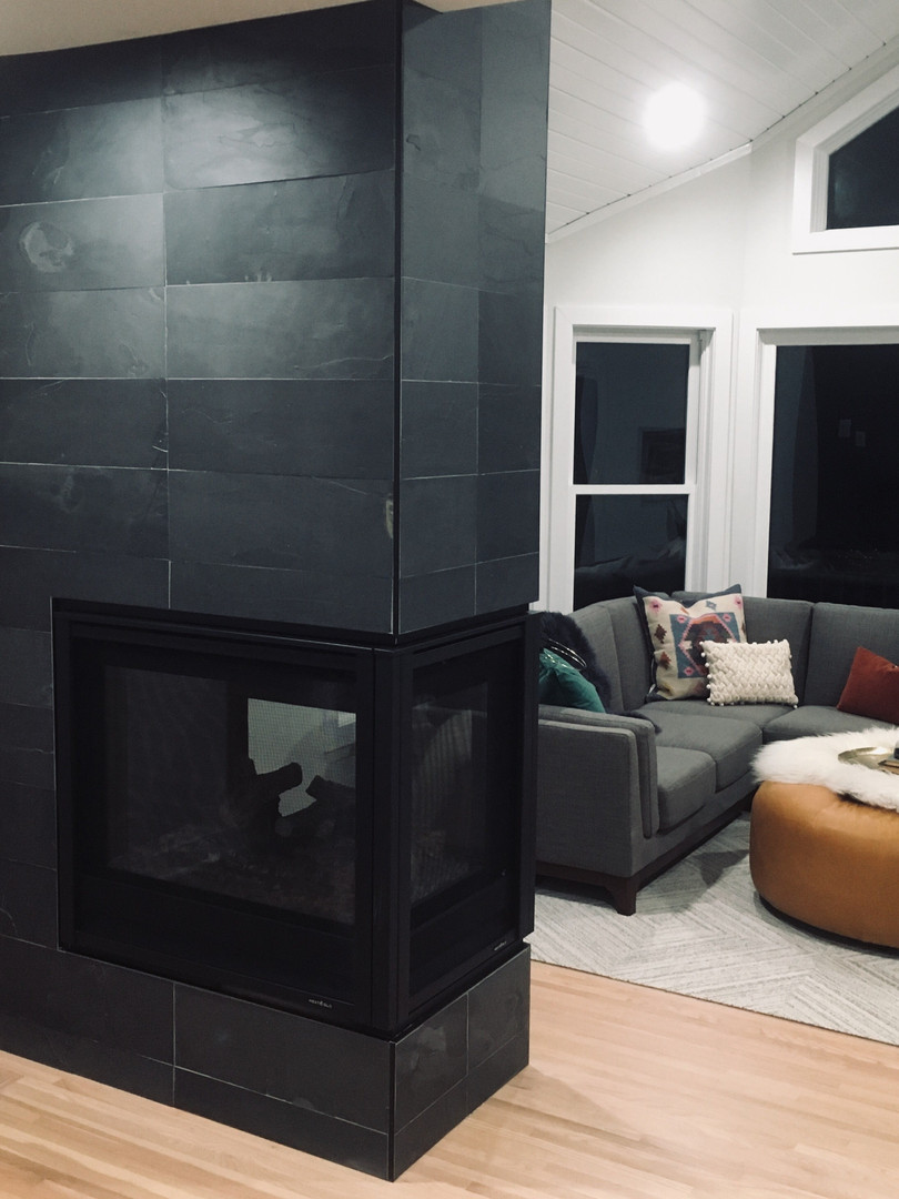 Slate Fireplace - HGTV - Stay or Sell