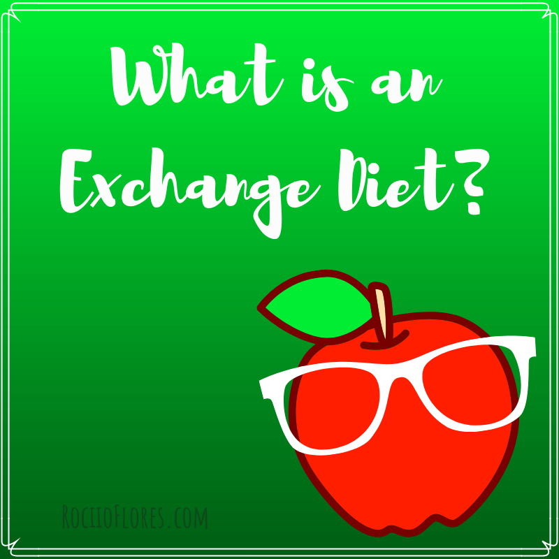 what is exchange diet , diet type,