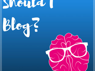 Should I Blog?