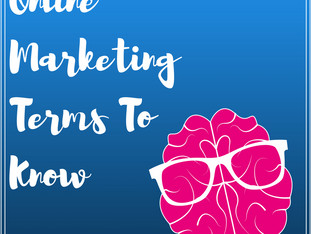 Online Marketing Terms To Know