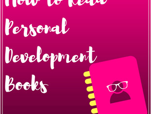 How To Read A Personal Development Book