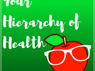 Your Hierarchy of Health