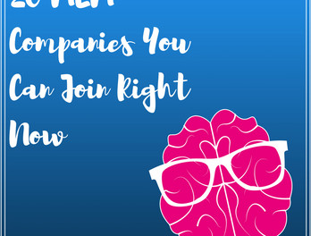 20 MLM Companies You Can Join Right Now