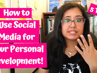 How To Use Social Media For Your Personal Development Journey