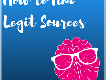 How to Find Legitimate Sources