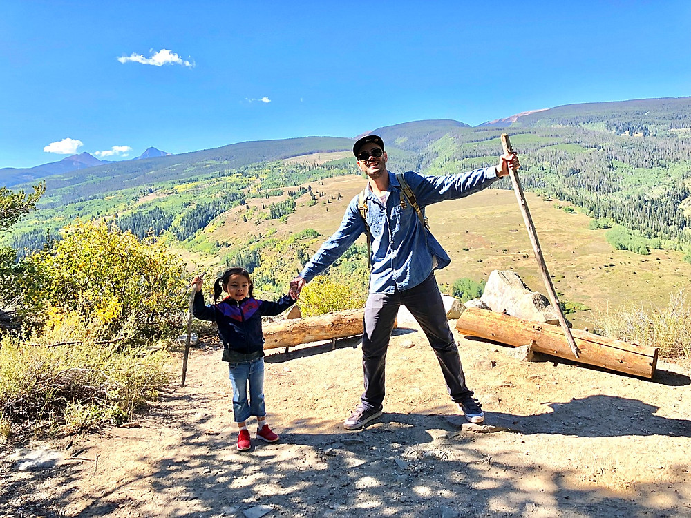 Lionshead Rock Trail, Curious G and Me, best hiking trails for kids, Colorado hiking with kids, daddy daughter hiking, daddy daughter bond, Vail Valley