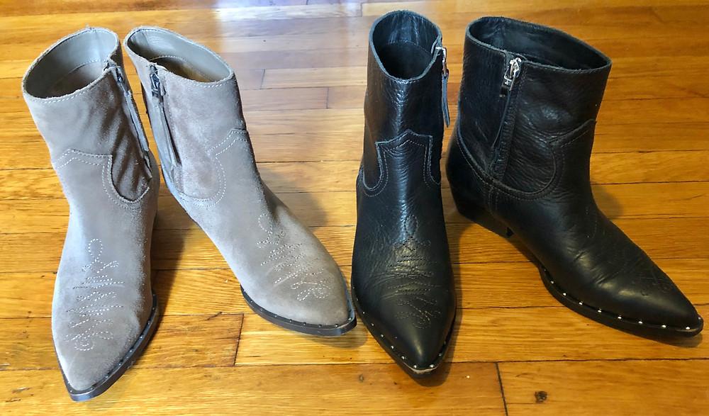 Sam Edelman Ava western bootie, western booties, western boots, cowboy boots, cowboy booties, cowgirl boots, cowgirl booties, best winter boots, stylish  booties on sale, comfortable, stylish booties