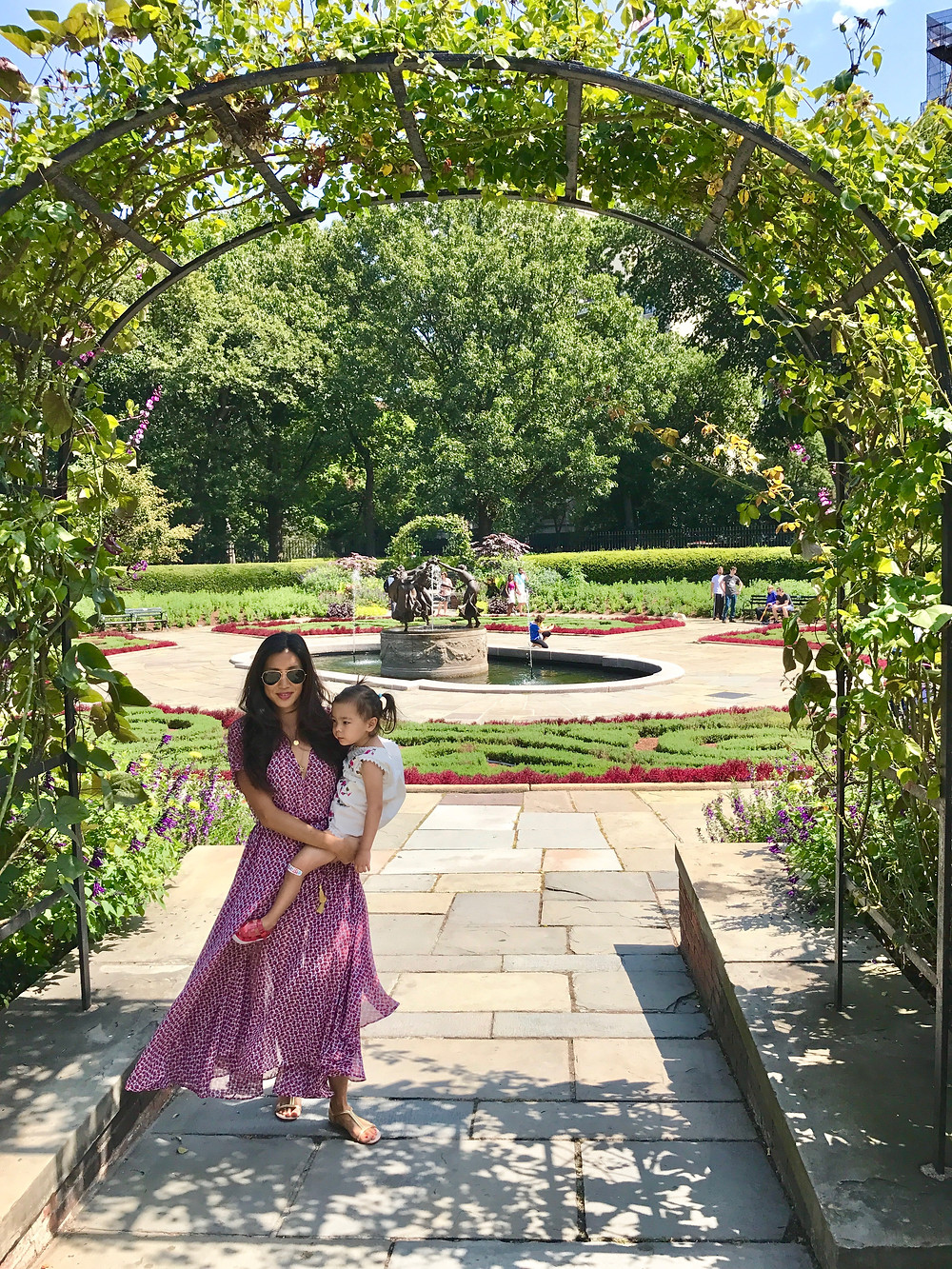 Central Park, Conservancy Garden, sirin bloom, mommy and me, fashion, mom style, kid style, NYC kids, NYC summer