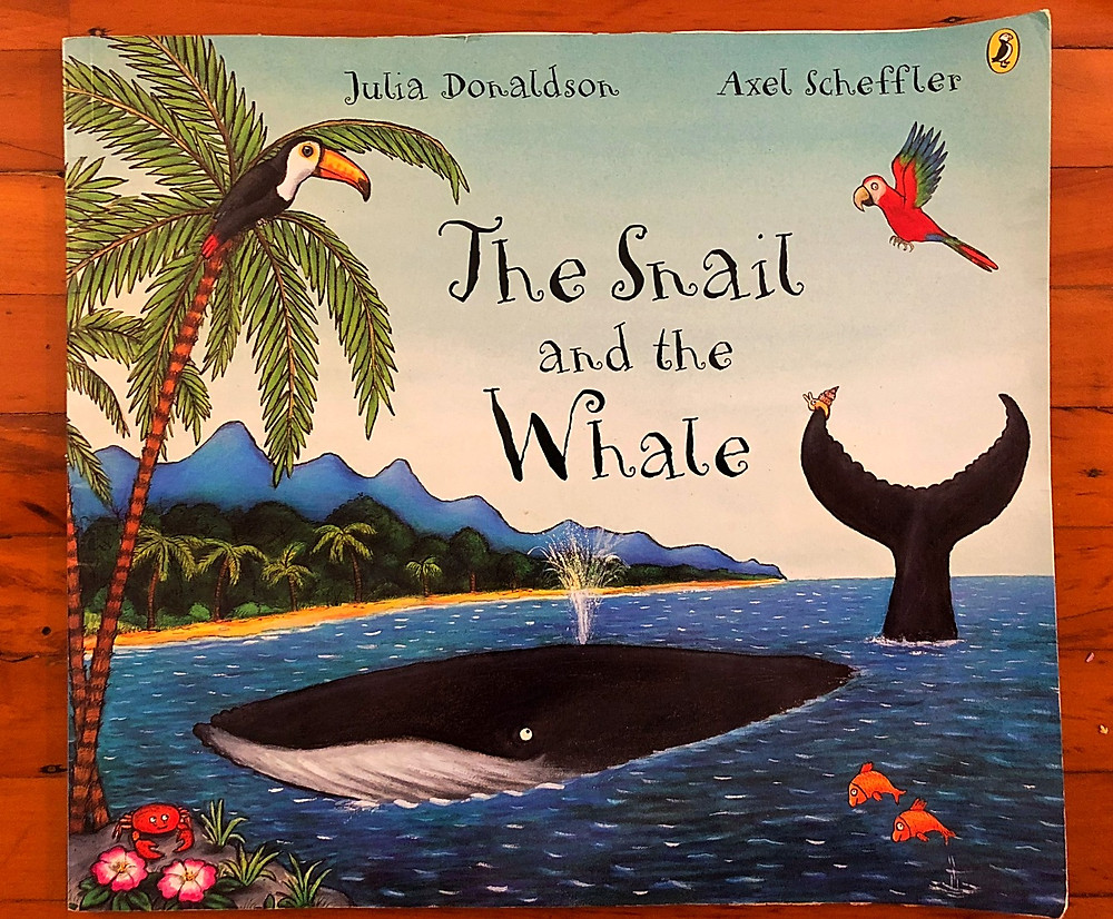 Curious G and Me, 10 Children's Books to Add to your Child's Fall Reading List, best children's books, reading list for children, beautiful children's books, smart children's books, books that teach good lessons, The Snail and the Whale, Julia Donaldson, Axel Scheffler