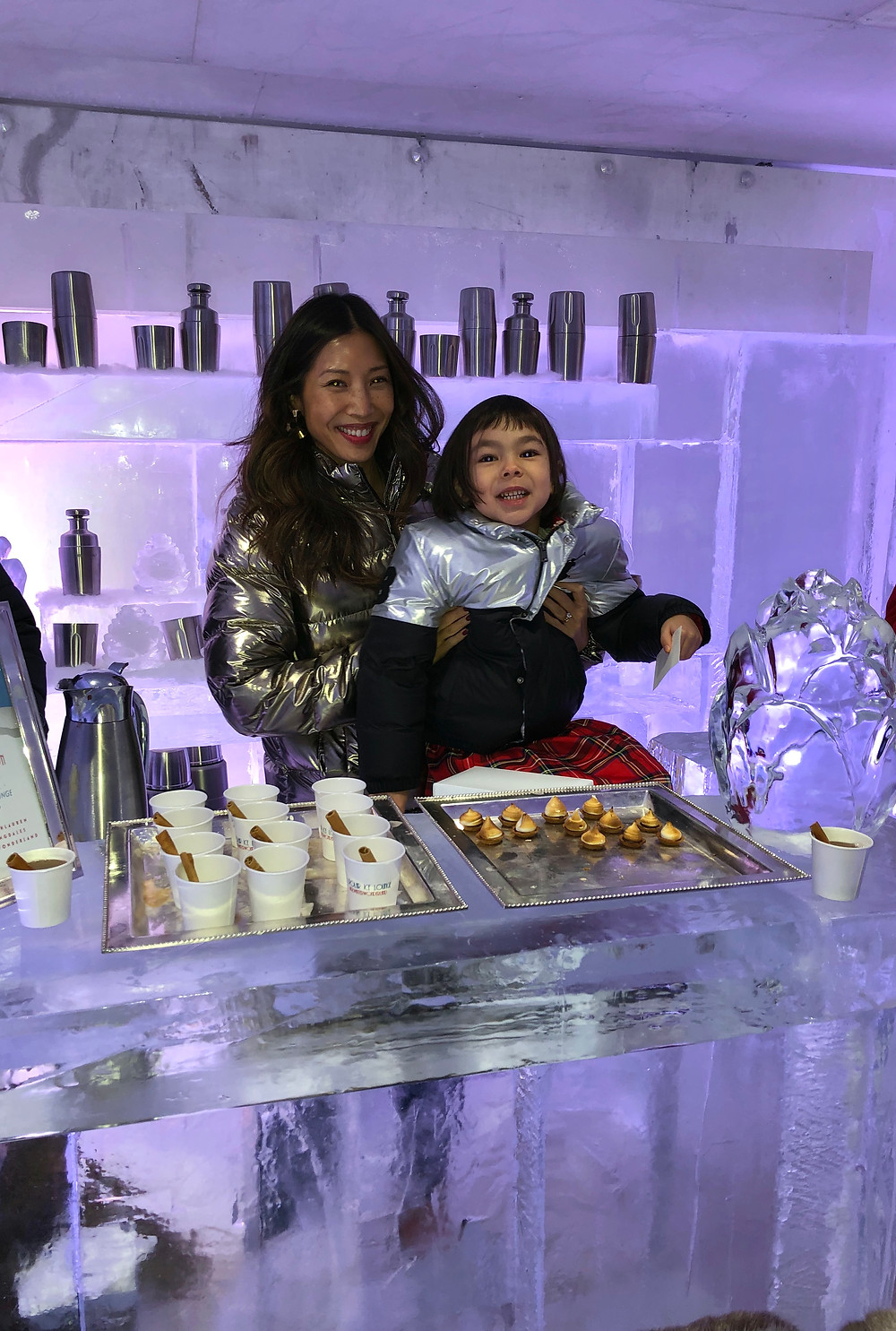 Ice Bar, Igloo, Bloomingdales holiday, Curious G and Me, Polo Ralph Lauren