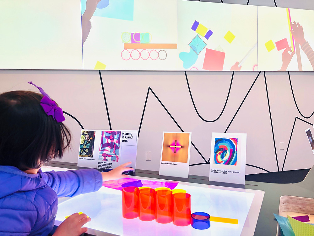 Art Lab, Moma, Mommy Poppins, What to Do in New York City with Kids this winter, Curious G and ME