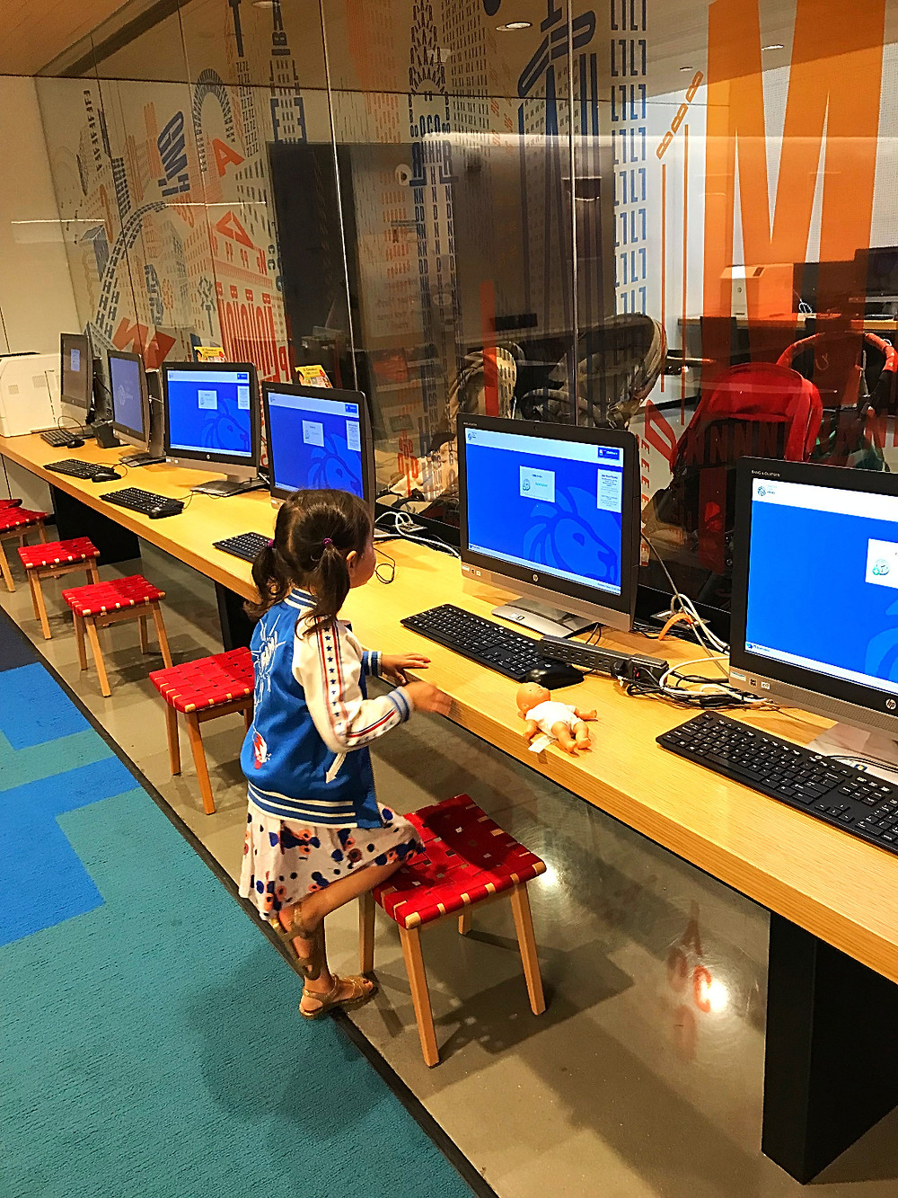 NYPL, 53rd Street library, nyc kids, bookd for kids