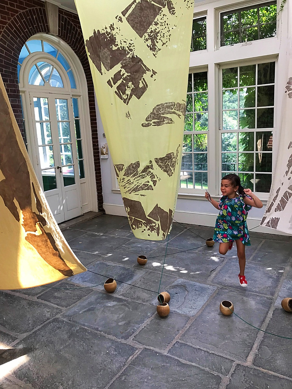 Wave Hill, NYC Botanical Garden, kids in nature, NYC hidden gem, Family Art Project, Curious G and Me, Glyndor Gallery, Sunroom Project Space
