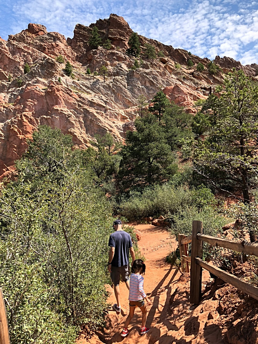 Curious G and Me, Garden of the Gods with kids, family travel, Colorado with kids, hiking with kids, rock climbing with kids, amazing scenery, best family vacations, family adventures, Colorado for families