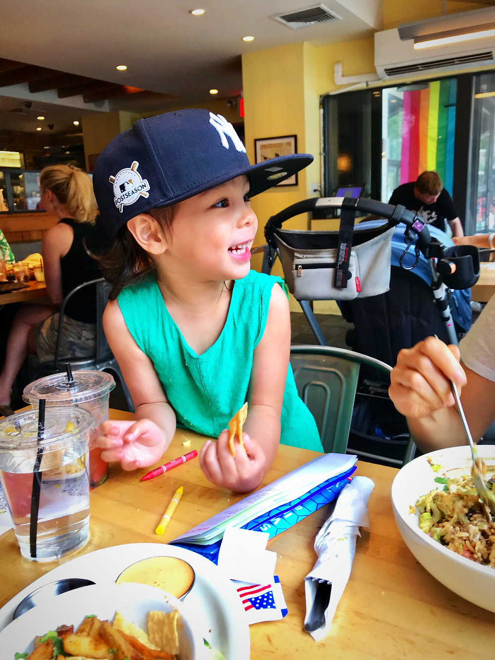 Calexico, kid friendly restaurants, nyc summer, Curious G and Me