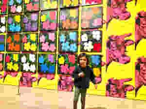 Whitney Museum, Whitney with kids, Whitney kids, Warhol Exhibit