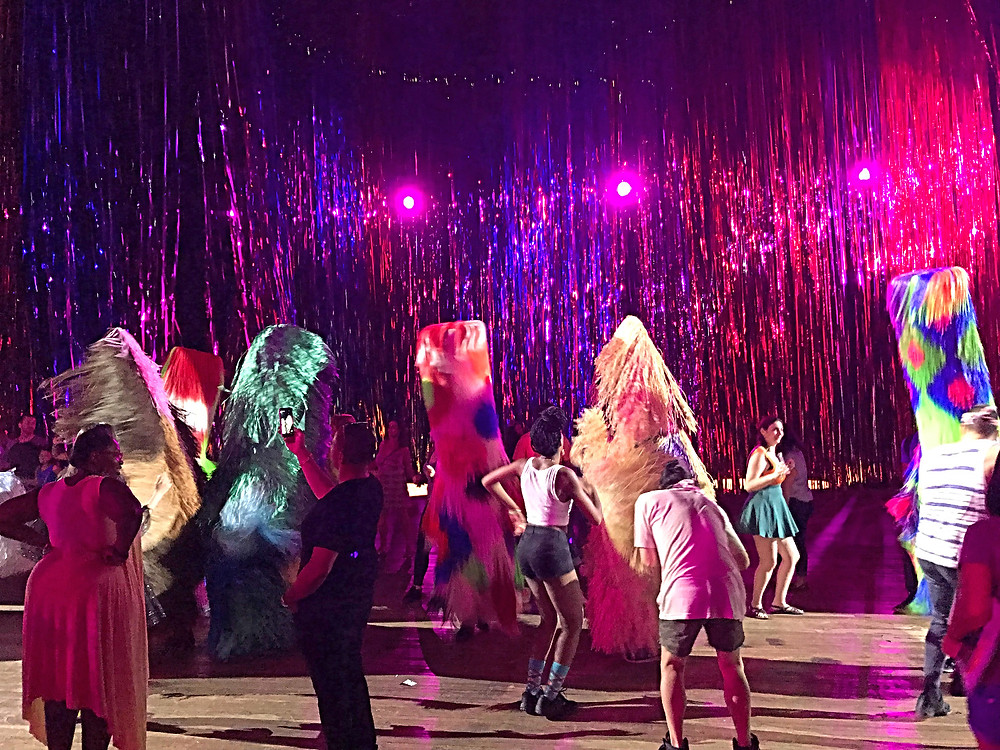 Park Avenue Armory, The Let Go, Nick Cave, curious g and me, cultured kids, museums with kids, nyc summer