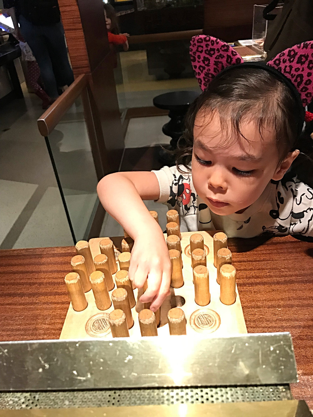 MoMath, The National Museum of Mathematics, children's museum, STEM fo kids, STEAM for kids, things to do this summer, nyc kids, nyc summer, curious g and me, patience puzzle