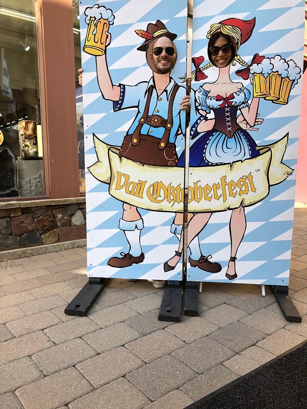 Lionshead Village, Lionshead Village for kids, Curious G and Me, Lionshead Village playground, Vail Oktoberfest