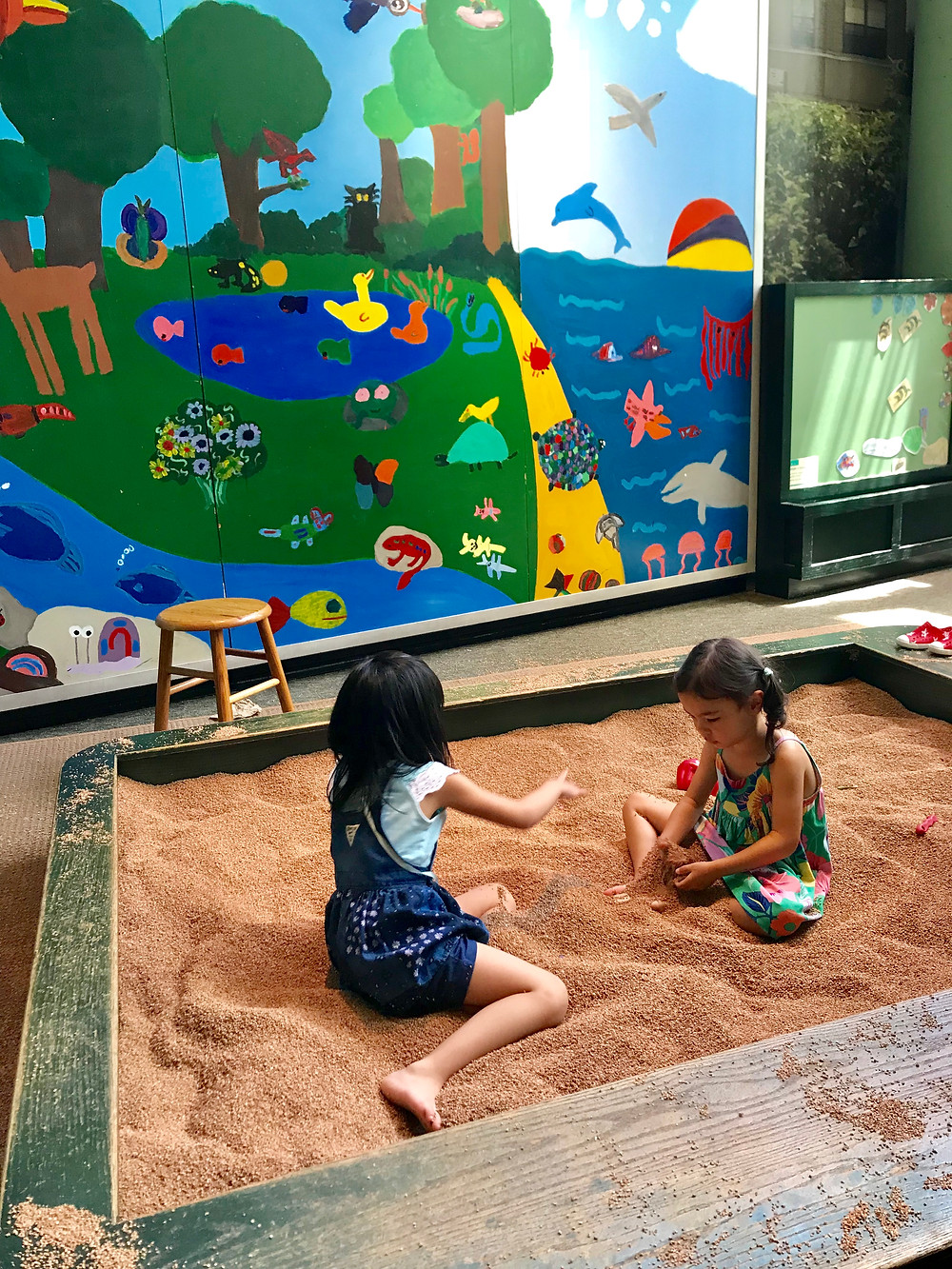 sandbox, corkbox, curious g and me, brooklyn children's museum