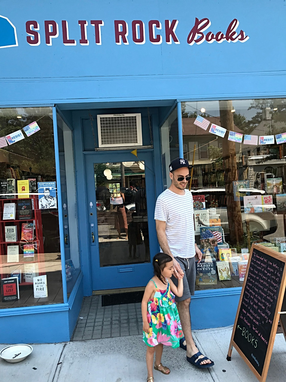 Cold Spring with kids, Hudson Valley with kids, Hudson Hil's Market and Cafe, brunch in Cold Spring, Curious G and Me, Split Rock Books