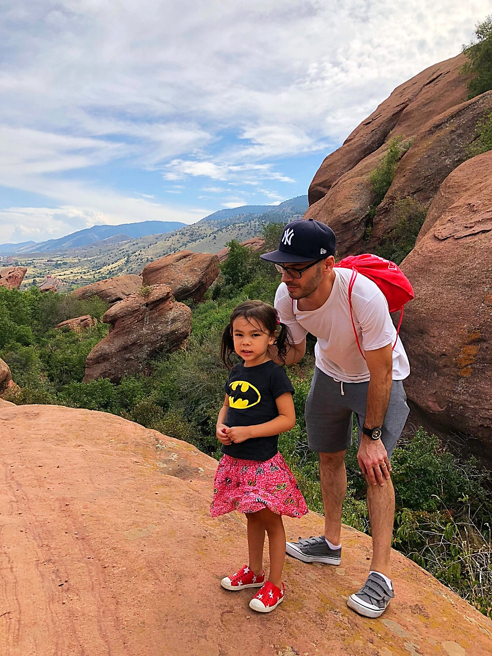 Denver with kids, Red Rocks Park, hiking with kids, family travel, Colorado with kids