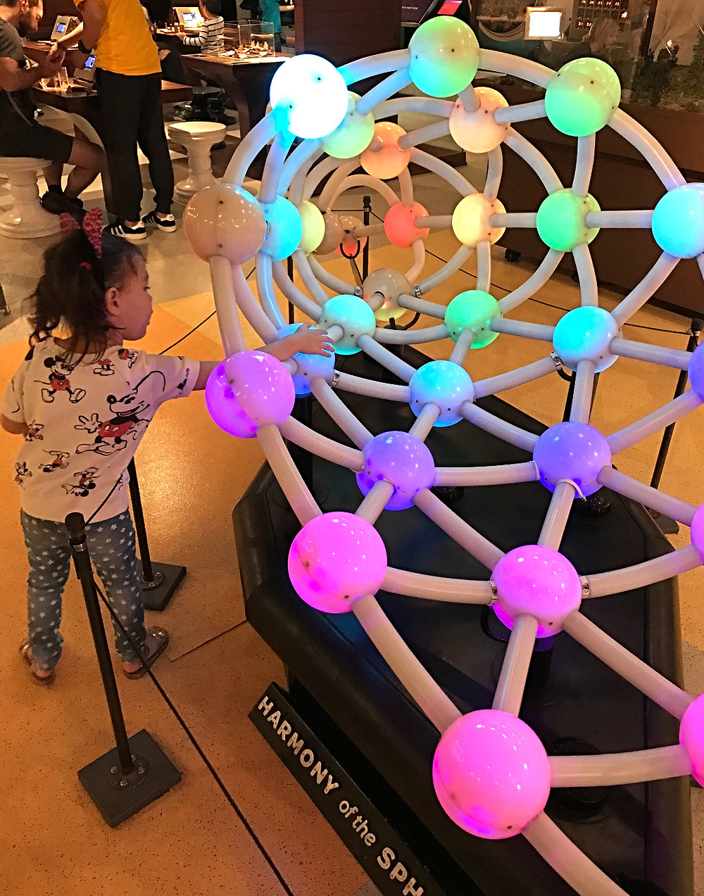 MoMath, National Museum of MAthematics. Harmony of spheres, children's museums, nyc with kids, learning is fun, curious g and me