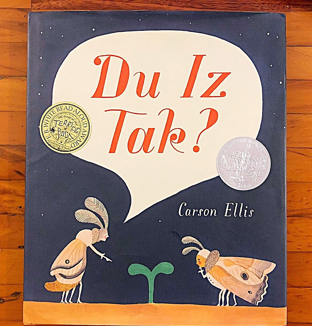Curious G and Me, 10 Children's Books to Add to your Child's Fall Reading List, best children's books, reading list for children, beautiful children's books, smart children's books, books that teach good lessons, Du Iz Tak? Carson Ellis