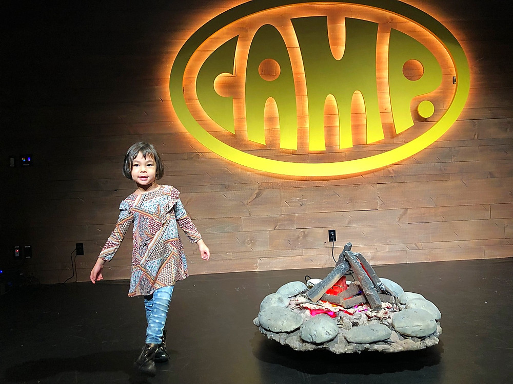 Camp Stores, 110 Fifth Avenue, campitheater, Amazing toy stores in NYC, Winter bucket list for kids, Curious G and Me, NYC family, NYC with kids