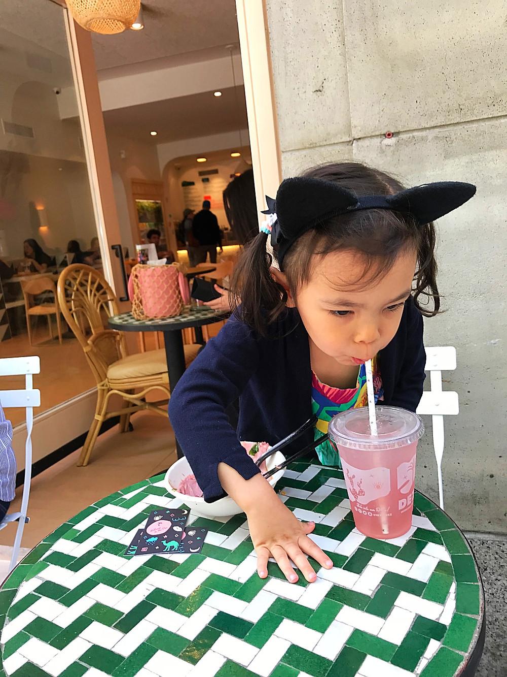 Dez, Nolita, kid friendy restaurant, NYC kids, Curious G and Me