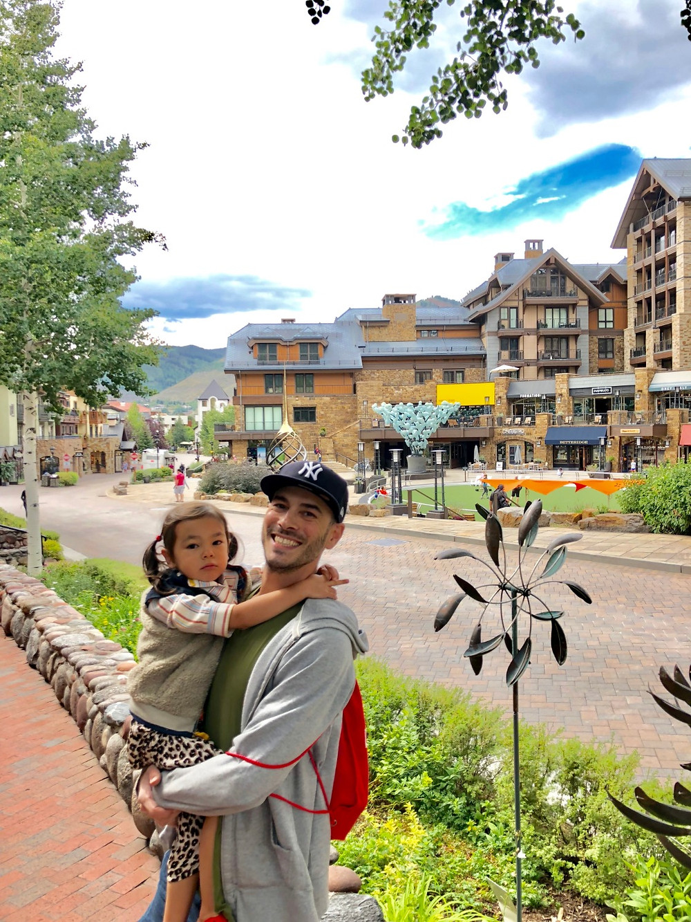 Vail Village, Curious G and Me, Vail with kids