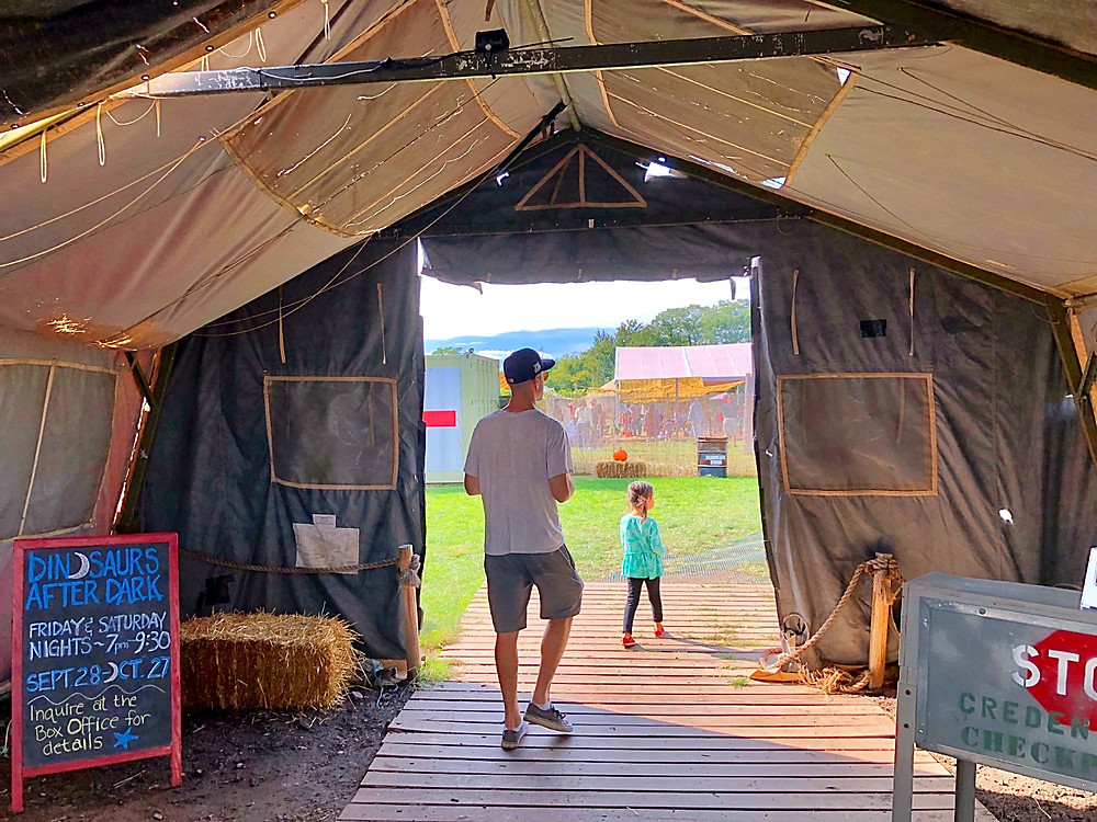Field Station: Dinosaurs, Curious G and Me, Best things to do with kids who love dinosaurs, Dinosaur Park, Jurrasic Park, Dinosaurs in New Jersey, Best things to do this fall with kids in New Jersey, Fall fun for kids, Fall fun for families