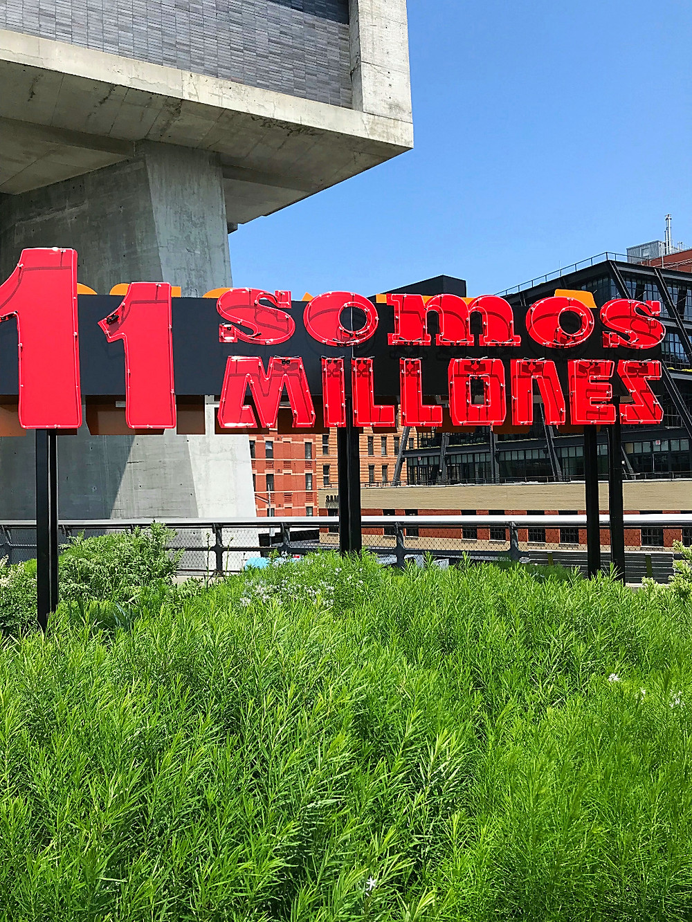 High Line, public art, DREAMERS, nyc art, nyc summer, nyc kids