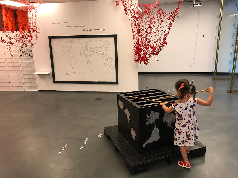 NYC museums, children's museums, things to do with kids in nyc, sugar hill children's musuem of art and storytelling, curious g and me, pool floats, art