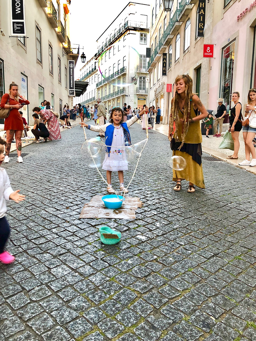 Curious G and Me, Portugal with kids, 4 day Lisbon itinerary, Summer travel with kids, Family travel guide, Sintra with kids, colorful Portugal, colorful Lisbon, photogenic Lisbon, photogenic Portugal, Lisbon with kids, day trip to Sintra, Chiado, Chiado with kids