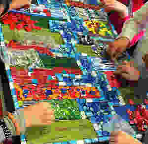 Mosaic art for kids, best art projects for kids, art projects created by a preschool teacher, Curious G and Me