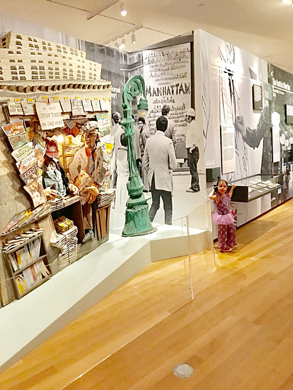 Museum of the City of New York, Interactive Mural, Things to do in NYC with kids, best nyc museums, curious g and me