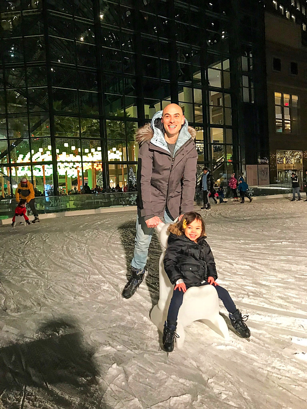 Holiday Bucket List, Fun things to do in NYC for the holidays with your kids, Instagram Bait, Holiday Pop Up, NYC Pop Up, Free in NYC, Curious G and Me, NYC family, NYC with kids, NYC Christmas, NYC icon, Holiday Shopping, Christmas AF, Christmas overload, Christmas explosion, Brookfield Place, Luminaries, ice skating in NYC, The Rink at Brookfield Place