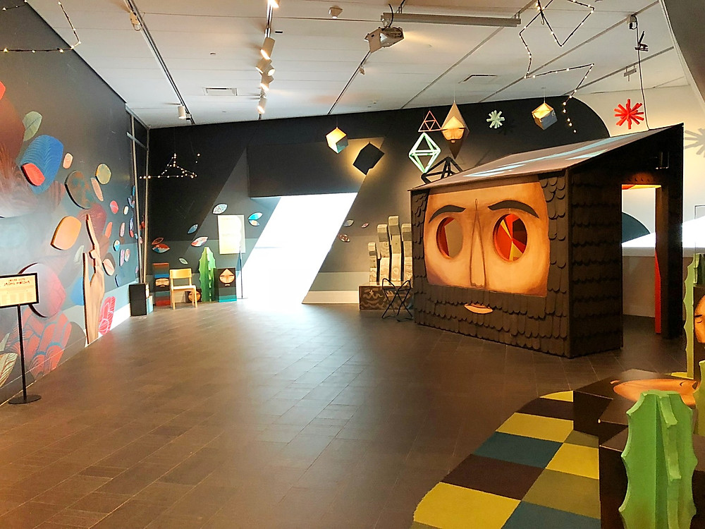 Denver with kids, Red Rocks Park, hiking with kids, family travel, Colorado with kids, FTW, kids in arcades, 16th Street Mall with kids, Denver with kids, Denver Art Museum, Claes Oldenburg, Denver Art Museum with kids, Past the tangled Present, Jaime Molina