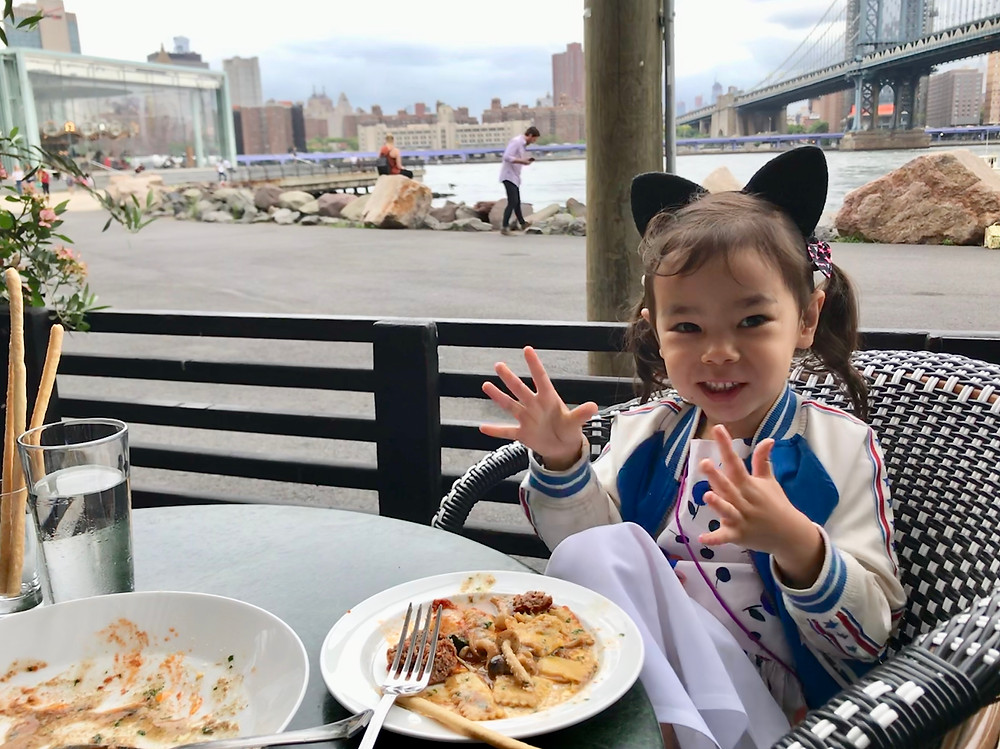 Brooklyn Bridge Park, Jane's Carousel, Cecconi's, Brooklyn with Kids, Fulton Ferry Landing, Empire Stores, Curious G and Me, NYC Ferry