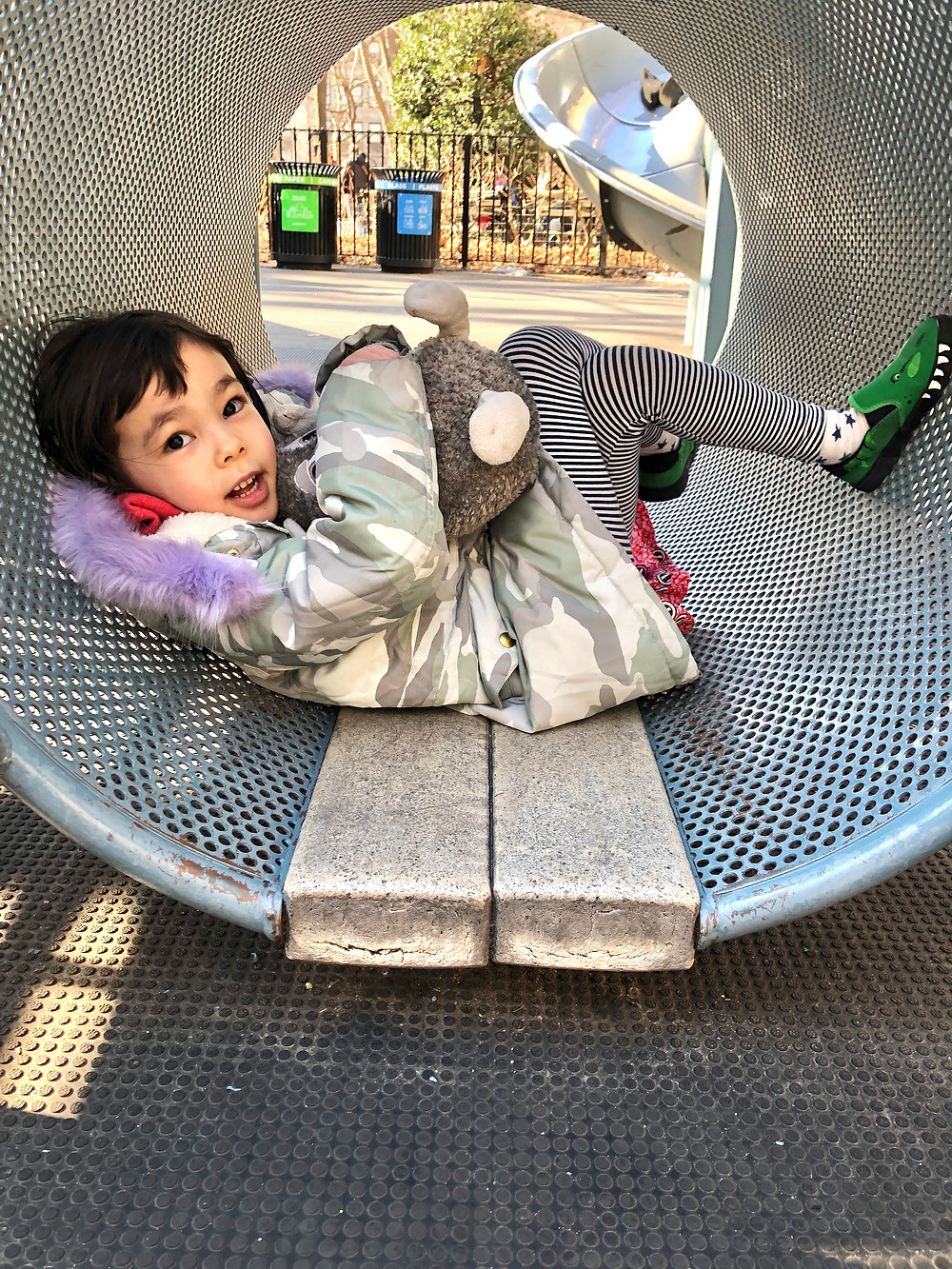 Madison Square Park, Officer Ann Moira Playground, NYC with kids, Curious G and Me, Best NYC Playgrounds